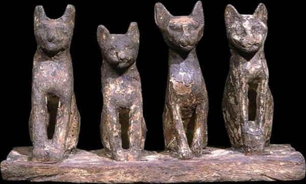 египетские кошки статуи