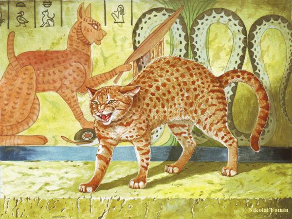 кошка и змея в египетской мифологии